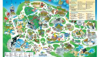 map of sea world florida seaworld san diego theme park map san diego ca mappery