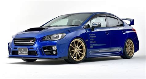 subaru wrx road rowen turns subaru wrx sti into a road going rally car