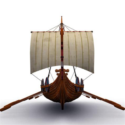 viking conquest boats 3d viking ship boats model