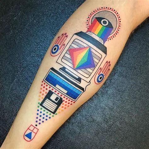 computer tattoo designs best 25 computer ideas on circuit