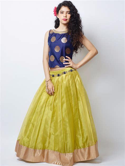 shopping cart latest party wear dresses for girls and boy youtube buy new designer blue yellow lehenga choli girls party