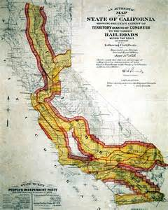 transcontinental railroad maps