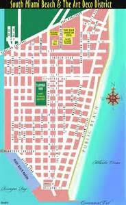 Miami South Beach Map by South Miami Beach Map Miami Beach