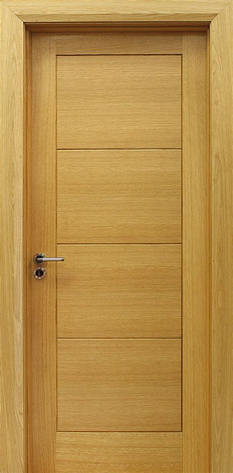 Milan White Oak Door 40mm Internal Doors Interior Oak Door