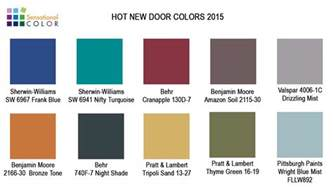 Interior Home Colors For 2015 by New Door Colors For 2015