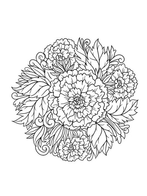 flower coloring book fanciful flowers coloring book designs myria