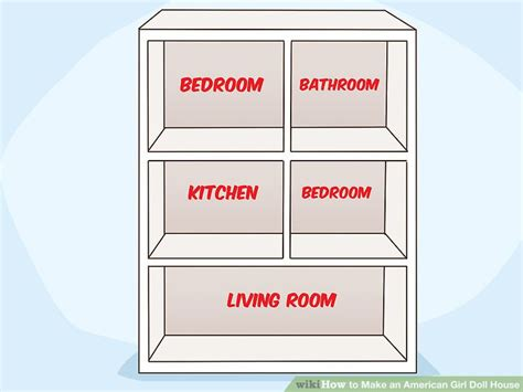 how to make an american girl doll house how to make an american girl doll house with pictures