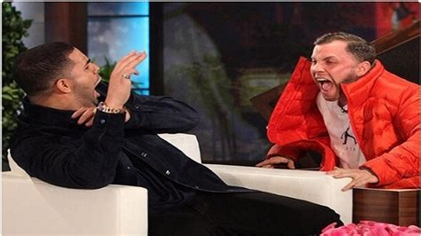 gets pranked with drake with gets pranked on the degeneres show prompts