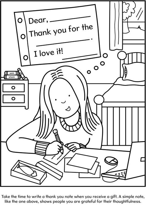 table manners coloring page coloring pages