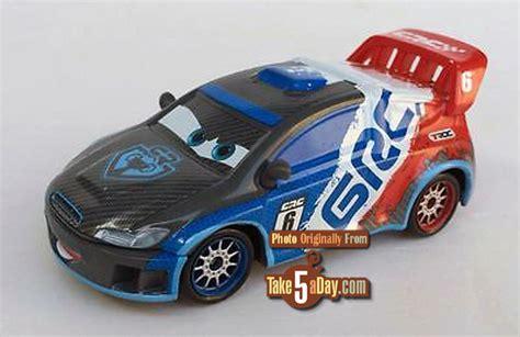 Diecast Mobil Tomica Cars Carbon Race Raoul Saroule mattel disney pixar cars carbon racers next take five a day