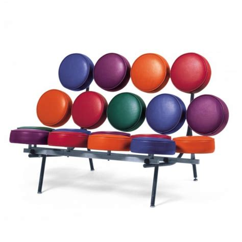 george nelson marshmallow sofa 27 cool furniture ideas inspired by pop art