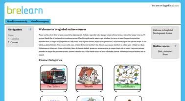 moodle theme legacy web site design hemel hempstead philip m russell ltd