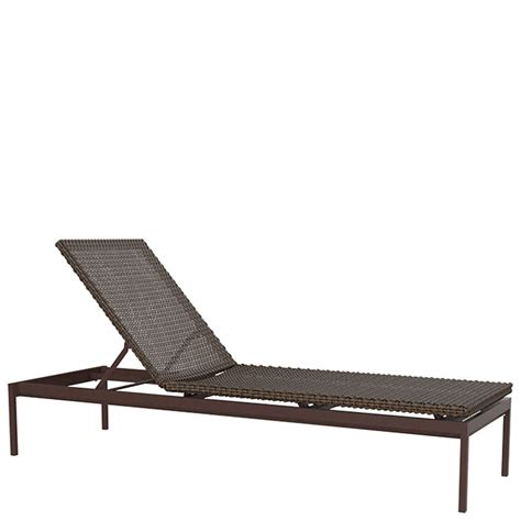 armless chaise cabana club woven 15 quot armless chaise lounge tropitone