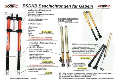 Motorrad Ohne Gabel by Franz Racing Suspension Fahrwerkstuning