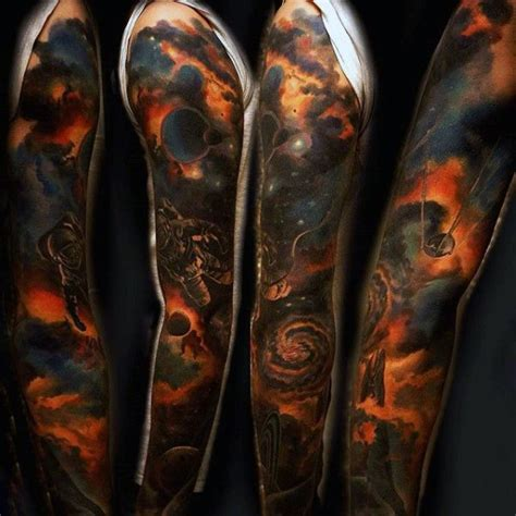 space tattoo sleeve designs best 25 outer space tattoos ideas on helmet
