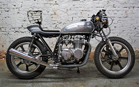 Handmade Cafe - custom honda cb550 cafe racer custom motorcycles