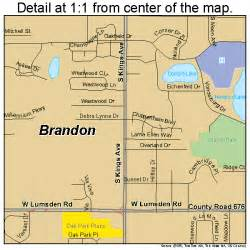 map of brandon florida brandon florida map 1208150