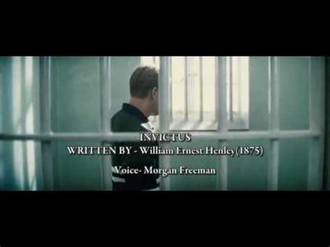 film invictus quotes invictus poem that inspired a nation youtube