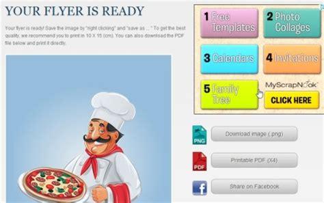 design your leaflet online 5 free websites to create flyer online