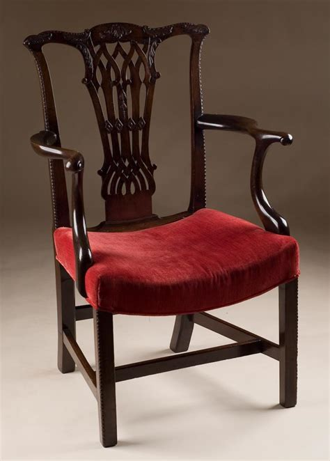 english armchair english antique chippendale armchair