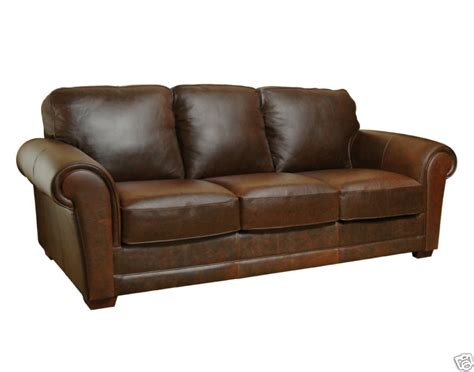 brown distressed leather couch bella italia leather furniture luke leather italian