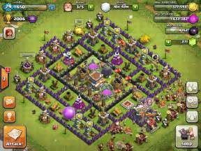 Quot unbeatable town hall 8 war trophy base quot clash of clans