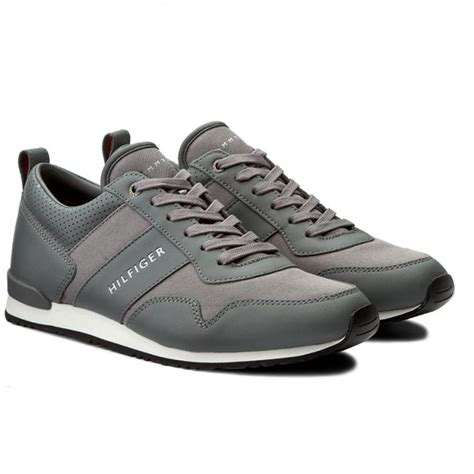 Sneakers Shoes E 039 sneakers hilfiger maxwell 11c2 fm0fm00270 steel