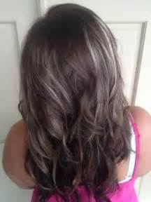 going gray from light golden brown hair with highlights medium brown hair with grey highlights google search