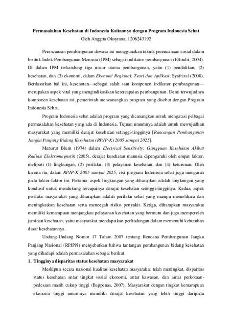 Masalah Masalah Kesehatan Lingkungan Di Indonesia | masalah masalah kesehatan lingkungan di indonesia