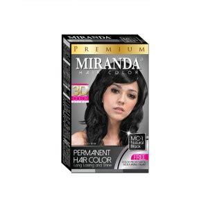 Spesial Pewarna Rambut Miranda Hair Color Premium Colour Bpom Terlari miranda omah geulis