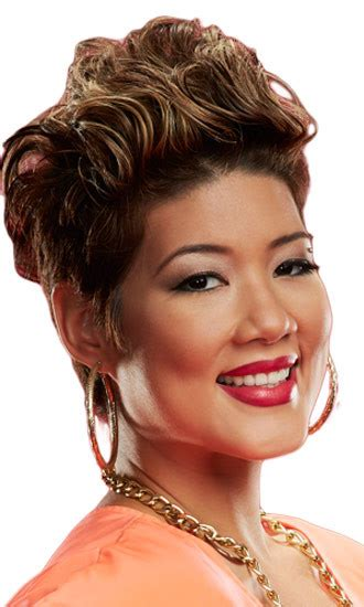 tessanne chin hairstyle tessanne chin hollywood life