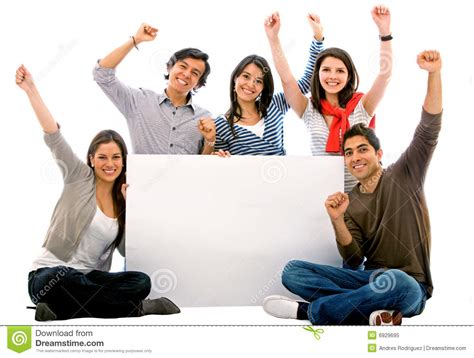 happy friends banner add happy friends stock image image of beautiful