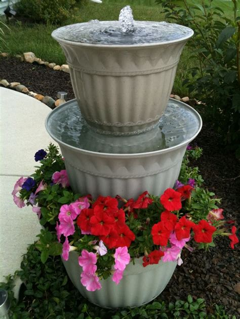 homemade planters 1000 ideas about homemade water fountains on pinterest