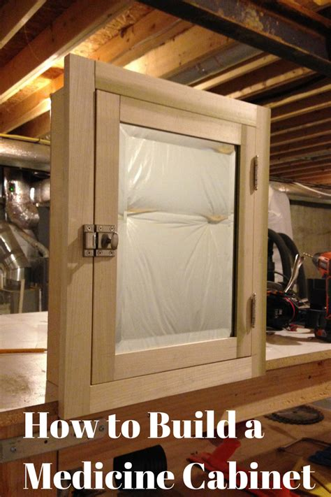 how to build a medicine cabinet our home from scratch