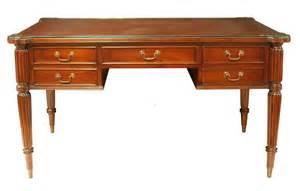 glass top writing desk regent mahogany glass top writing desk