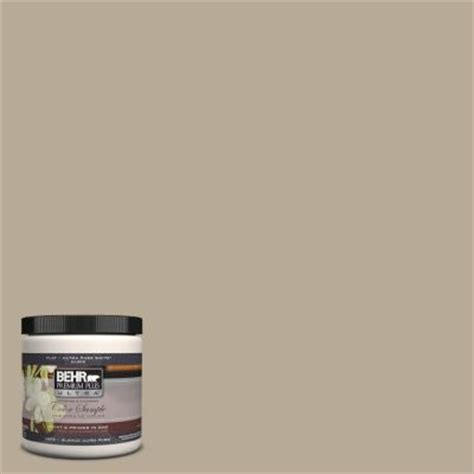 behr premium plus ultra 8 oz n310 4 desert khaki interior exterior paint sle ul20416 the