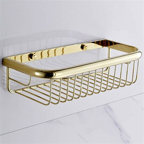 Wire Bathroom Shelves Vintage 30cm Rectangle Wire Bathroom Wall Shelves