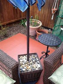 Diy Patio Umbrella Stand 17 Best Ideas About Patio Umbrella Stand On Diy Umbrella Base Deck Umbrella And