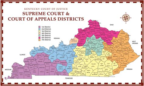 Kentucky Federal Court Search Appellate Court Districts Images