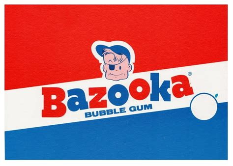 Image result for vintage bazooka bubble gum
