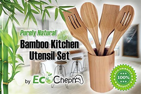 the 4 best kitchen gadgets for the healthy foodie eat best bamboo utensil set 4 kitchen tools by ecocheph