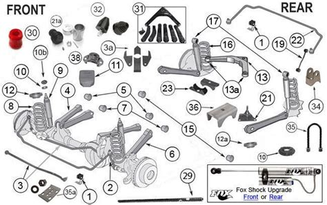 2001 jeep grand front end diagram 2001 jeep grand front suspension diagram 1993