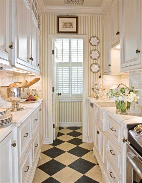 galley kitchen decorating ideas beautiful efficient small kitchens traditional home