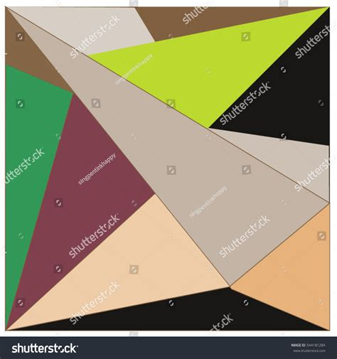 illustration layout composition abstract modern triangles background pattern illustration