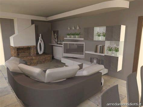 diotti divani soggiorno in pietra con divano curvo florida