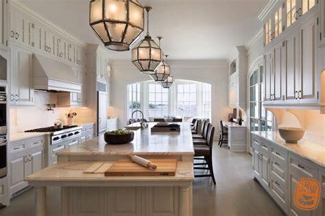 Long Kitchen Island Transitional kitchen Shope Reno Wharton
