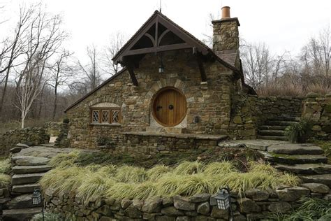 beautiful real life hobbit house is straight out of the