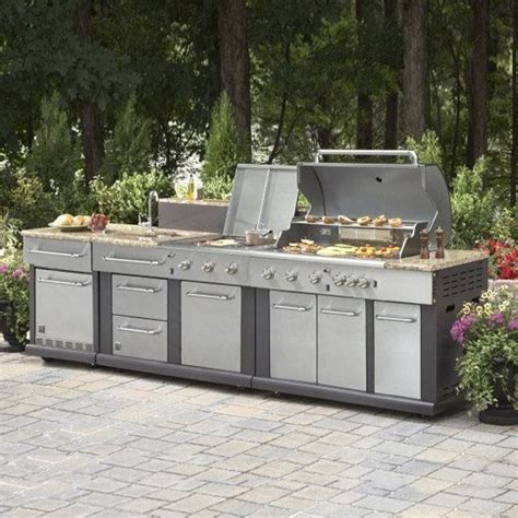 Backyard Grill Vs Master Forge 25 Best Ideas About Modular Outdoor Kitchens On