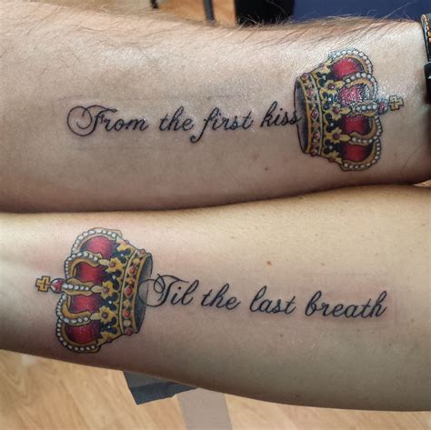 name tattoos for couples best couples