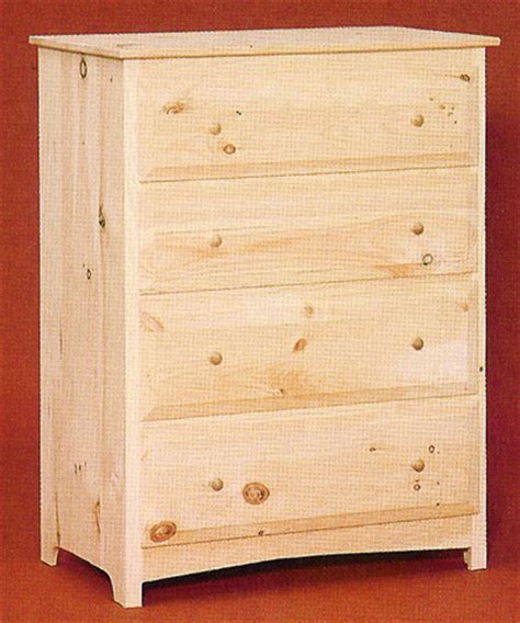 unfinished bedroom dressers unfinished pine furniture bedroom amp occasional tables